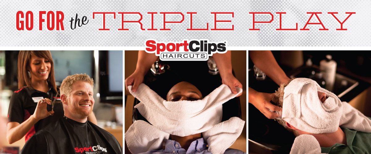 The Sport Clips Haircuts of Knoxville - Halls/Powell  Triple Play